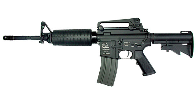 Bushmaster .223-caliber assault rifle